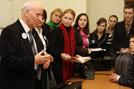 Беседа Ш.А. Амонашвили со студентами